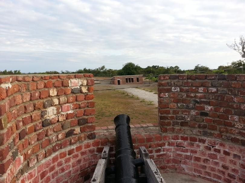 Cannon protecting Fort Charles, Port Royal