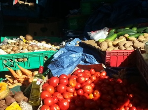 Fresh Vegetables at Brown's Town Market