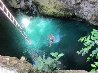 Blue Hole Mineral Spring, West End, Jamaica