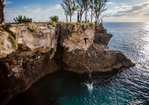 Ricks Cafe cliff jump