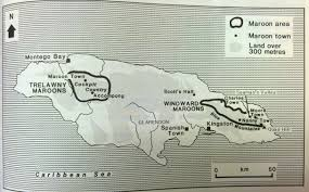 Maroon villages in Jamaica