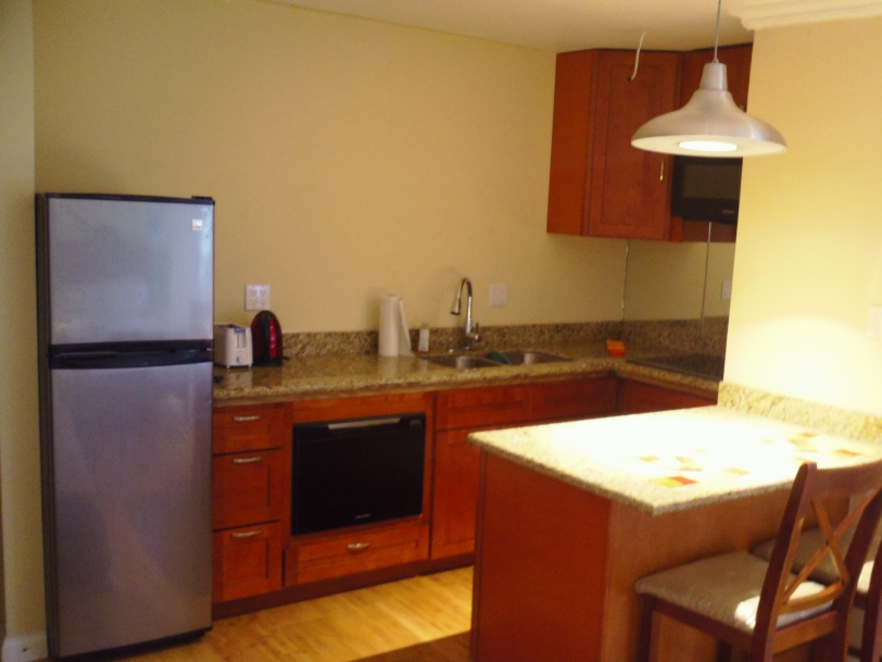 Full Kitchen at Bathroom vanity at at Ocean Front Montego Bay Club #508
